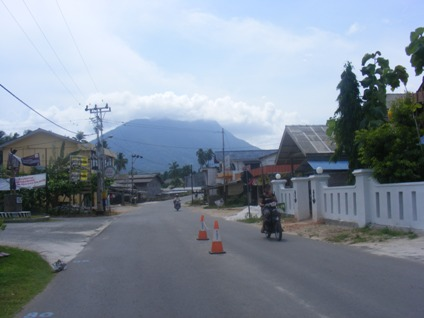 Ranai, ibukota Kabupaten Natuna foto untuk catatan perjalanan